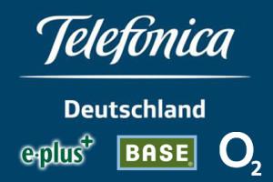 Telefonica Deutschland, E-plus, Base, o2