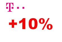Telekom 10 Prozen