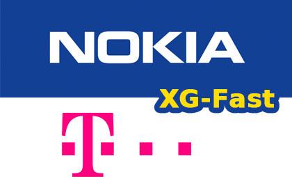 Telekom und Nokia XG-Fast