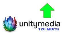 Unitymedia 120 Mbit/s