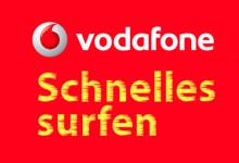 Vodafone - Shnelles Surfen