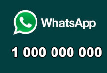 WhatsApp 1 000 000 000