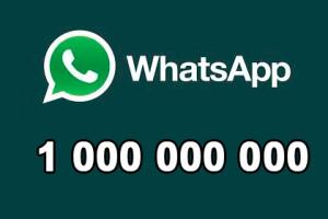 WhatsApp 1 000 000 000