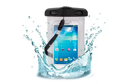 Wicked Chili Waterproof Beach Pouch Bag Case for Samsung Galaxy S6