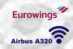 Eurowings Airbus A320 WLAN
