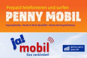 PENNY MOBIL und ja! mobil: Flexibler easy-Tarif mit Messanger-Flat