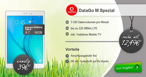 Samsung GALAXY Tab 4 - DataGo M Special
