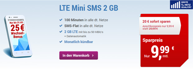 Simply - LTE Mini SMS 2 Gb