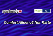 Sparhandy Comfort Allnet o2 nur karte