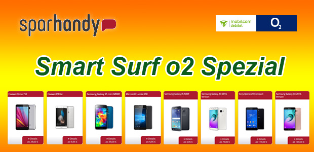 sparhandy - Smart Surf o2 Special
