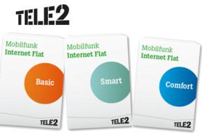 Tele2: Allnet-Flats zu Aktionspreisen und neue Internet-Flats