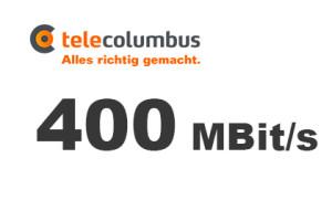 Telecolumbus 400 MBit/s