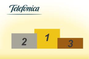 Telefónica feiert mehrere Auszeichnungen für Netze und Marken