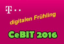 Telekom - digitalen Frühling CeBIT 2016