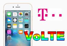 Telekom iPhone VoLTE