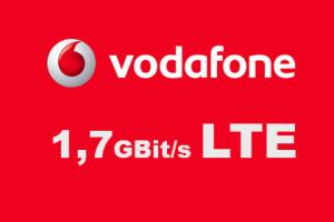 Vodafone 1,7 Gbit/s LTE