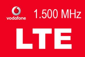Vodafone - 1.500 MHz LTE