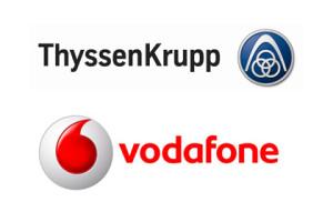 Vodafone + ThyssenKrupp