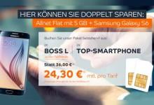 Bossmobile - Allnet-Flat 5GB + Samsung Galaxy S6