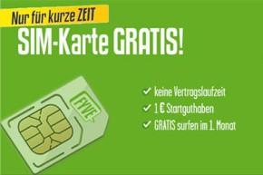 FYVE: Gratis SIM-Karte mit Guthaben und einem Monat 500 MB kostenlos