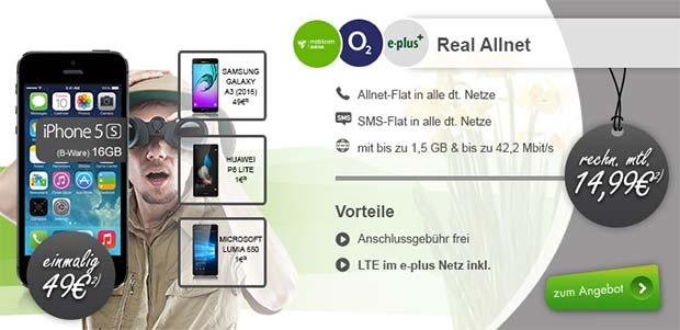 modeo - Real Allnet mit Smartphone