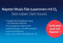 o2 Napster-Music-Flat