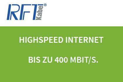 RFT kabel mit 400 MBit/s