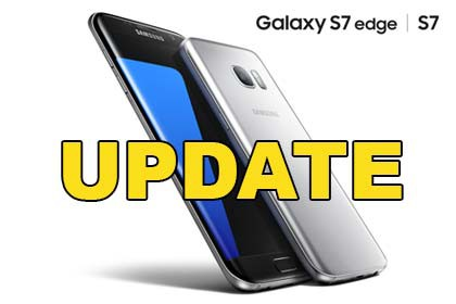 Samsung Ggalaxy S7 Edge - Update