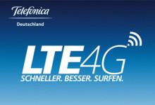 Telefonica Deutschland LTE 4G