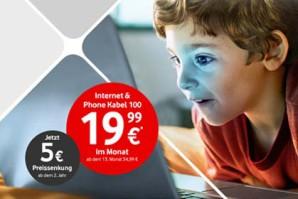 Neue Tarife bei Vodafone Kabel Deutschland