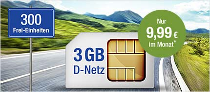 gmx.de All-Net & Surf 3 GB