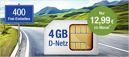gmx.de All-Net & Surf 4 GB