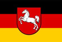 Flagge Niedersachsens