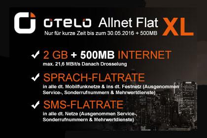 otelo Allnet-Flat XL