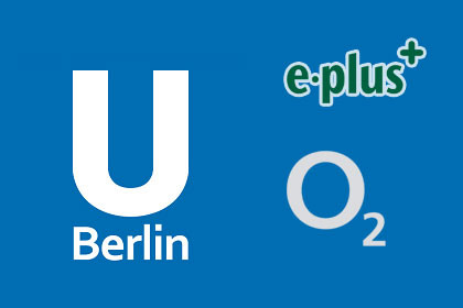 U-Berlin o2, E-plus
