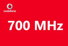 Vodafone - 700 MHz