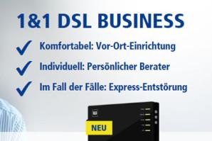 1&1 DSL Business Portfolio: Neue Konditionen und Optionen