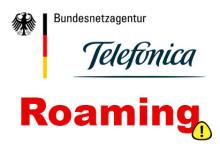 Telefonica - hohen Roaming-Gebühren