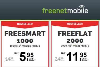 freenetmobile - Freesmart + Freeflat