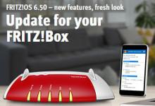 Fritz!OS Update 6.50
