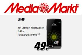 Media Markt Online Shop: LG G5 für 49 Euro mit Allnet- und Daten-Flat für 9,99 Euro