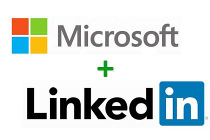 Microsoft und Linked in