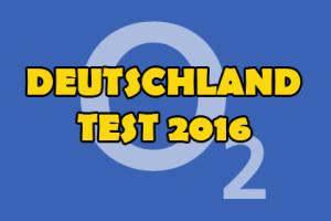 o2 - Deutschland Test 2016