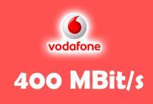Vodafone - 400 MBit /s