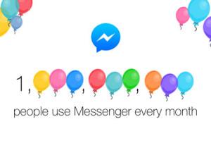 Milliarde Fasebook Messenger Nutzern