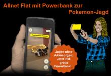 congstar - Allnet-Flat mit Powerbank zur Pokemon Jagd