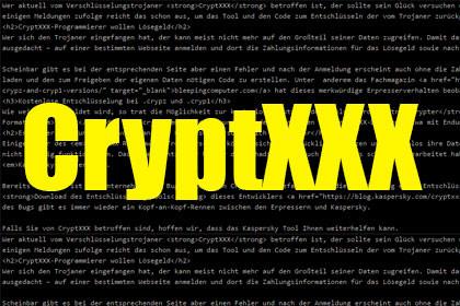 CryptXXX