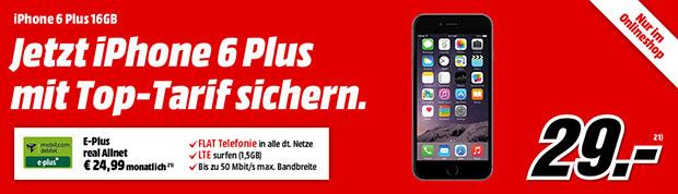 iPhone 6 Plus mit Real Allnet