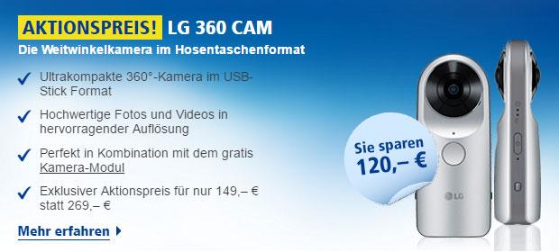 LG G5 mit LG 360 Cam