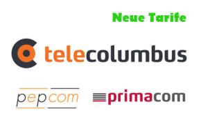 Tele Columbus, Primacom und Pepcom: Neue Tarife und Mobilfunkangebote